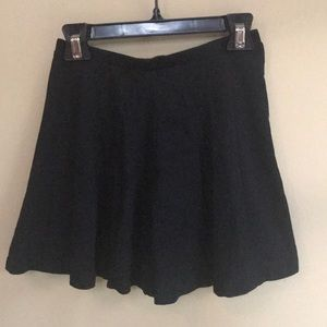 LA Hearts Black Skirt